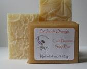 Patchouli Orange Cold Process Soap