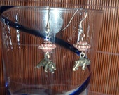 Ositos dangle earrings