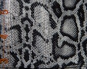 DESTASH Snakeskin Cotton Monotone Grays
