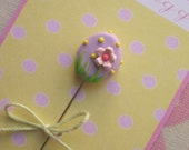 Pastel Easter Egg Pin Topper