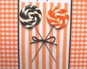 Halloween Lollipop Pin Topper Set