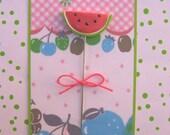 Garden Fresh Watermelon Slice Pin Topper