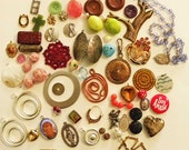 Jewelry making Destash Miscellaneous vintage and newer beads charms pendants