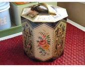 Imperfectly perfect Vintage Candy tin