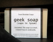 Private listing for freshandclean - Geek soap. Because eventually, even geeks must bathe.