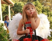 Feather Angel Wings --girls sizes sm, med, large