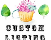 Custom Listing for TheLuluBean