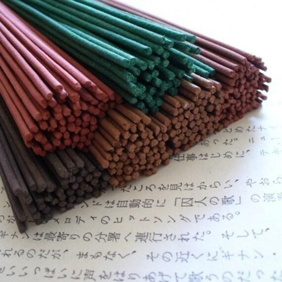 Natural Incense Sticks - Spirit of Fragrance - CHOKKAN (INTUITION) -  lavender, rose, clove