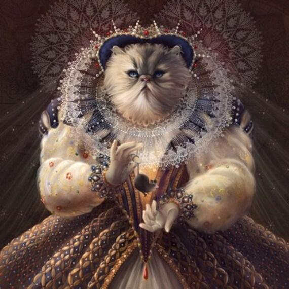 Royal Portrait Of My Cat Free