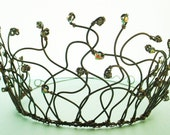 Black Swan Tiara - Inspired by the Film, Halloween Costume for Adult or Child, Customize Your Crown, Free Shipping
