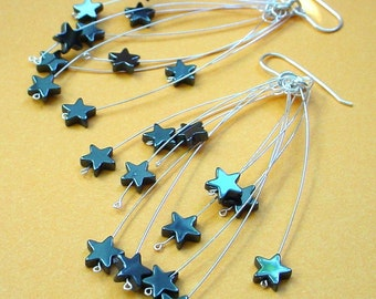 Shooting Star Fireworks Earrings
