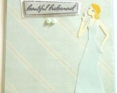 Be My Bridesmaid - Handmade Bridesmaid/Wedding Greeting Card