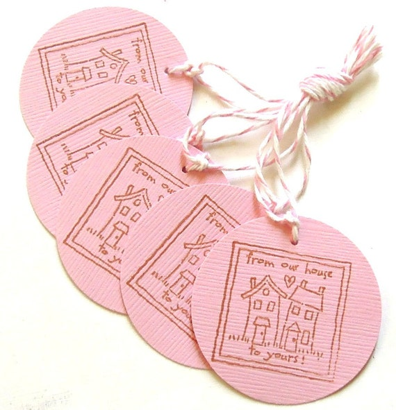 Our House To Yours Gift Tags - Set of 5 Tags