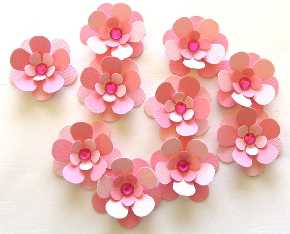 Scrapbooking Pink Flowers of 10 Scrapbook Flowers