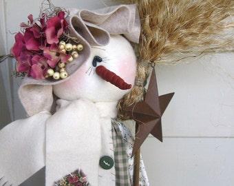 Tall-n-Skinny Snow Lady e pattern