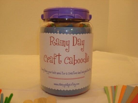 Rainy Day Kids Craft Caboodle Kit