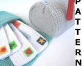 Mailbox and Mail Bag Crochet Pattern
