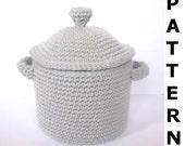 Pots and Pans Crochet Pattern