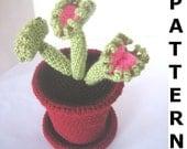 Venus Fly Trap Crochet Pattern