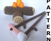 Camp Fire Crochet Pattern