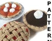 Bake a Pie Play Food Crochet Pattern