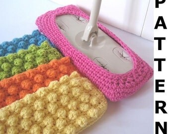 Swiffer Mop Cover Crochet PATTERN
