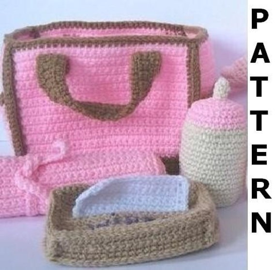 Crochet Dice Bag Pattern : Diaper Bag Crochet Pattern