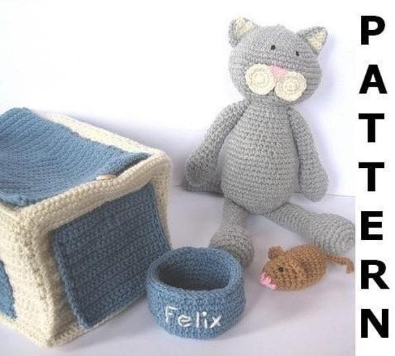 Pet Cat Crochet Pattern