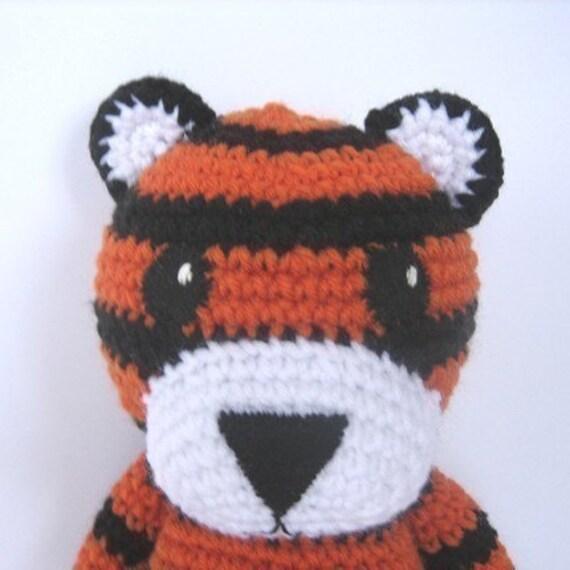 Tiger Crochet Pattern From CrochetNPlayDesigns On Etsy Studio