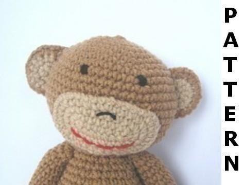 Amigurumi Go Monkey : MONKEY CROCHET PATTERN CHOICE PATTERNS