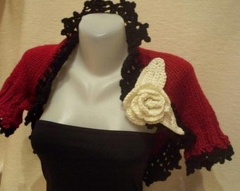 Big discount.Knitted  shrug.