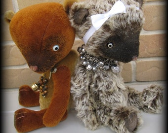 Booth and/or Acorn - Emma's Bears Double PATTERN
