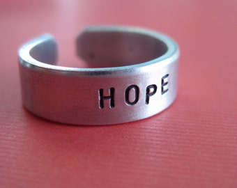 Custom Ring - Personalized Ring - 1/4 inch
