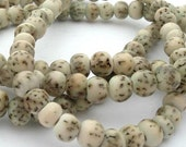 Gorgeous Light Green Salwag Pearls -- 6mm Round Beads -- 16 inch strand