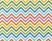 Remix Fabric by Ann Kelle for Robert Kaufman, Zig Zag in Summer- 1 Yard
