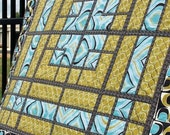 """Dance Floor Quilt Pattern by Jaybird Quilts -54"""" by 54"""" Lap Quilt"""