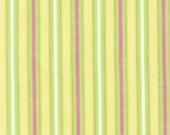 SALE Colorworks 2 Woven Fabric by Patrick Lose for Robert Kaufman, Stripe in Garden-1 Yard