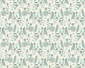 Prince Charming Fabric by Tula Pink for Free Spirit, Charming Dandelion in Cream-Fat Quarter