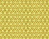 SALE Heirloom Fabric by Joel Dewberry for Free Spirit, Opal in Gold-1 Yard or by the yard