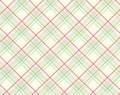 Sugar Hill Fabric by Tanya Whelan for Free Spirit, Plaid in Ivory-Fat Quarter
