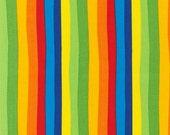 Dr Seuss Fabric by Robert Kaufman, Dr Seuss Stripe in Celebration-Fat Quarter