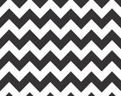 Chevron Fabric by Riley Blake Designs Chevron fabric by Riley Blake, Medium Chevron in Black-Fat Quarter