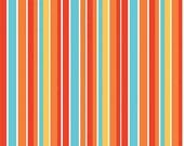 Peak Hour Fabric by Kelly Wulfsohn for Riley Blake, Peak Hour Stripe in Red-1 Yard