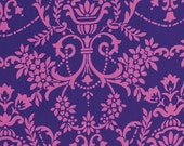 Crazy Love Fabric by Jennifer Paganelli for Free Spirit, Natasha in Blue-Fat Quarter