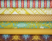 LouLouThi Fabric by Anna Maria Horner for Free Spirit- 1/2 Yard Bundle,  6 total