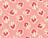 Vintage Modern by Bonnie and Camille fabric for Moda, Floral Wish in Melon Pink-1 Yard