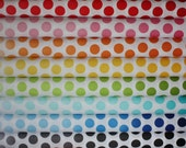 Ombre Dots Fabric by Riley Blake Designs- 1/2 Yard Bundle, 8 total
