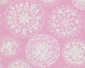 Pretty LIttle Things Fabric by Dena Designs for Free Spirit, Jada in Pink-1 Yard