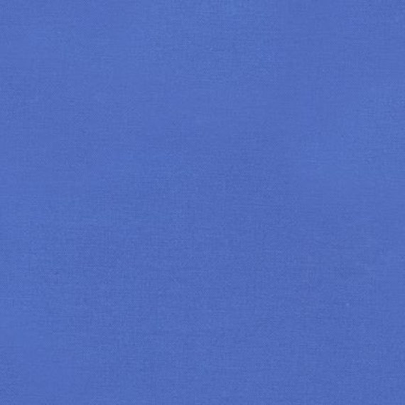 Kona Cotton Designer Solid fabric by Robert Kaufman -Fat Quarter of Lapis