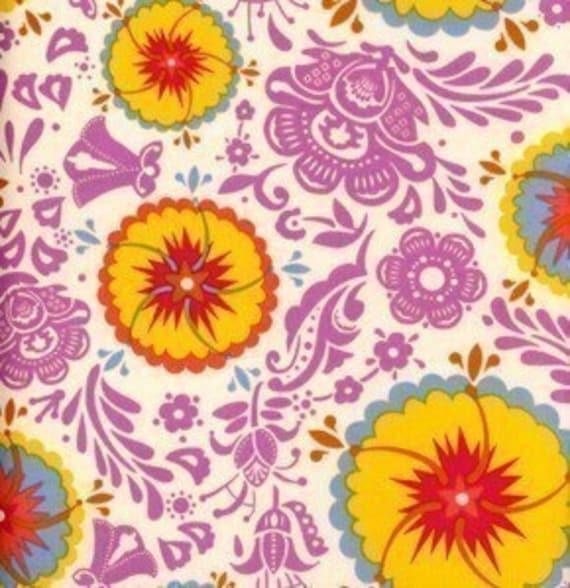 SALE Anna Maria Good Folks fabric-Fortune in Sun- 1 yard